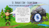 St. Patrick's Day Escape Room - Catch Me if you Can! - Int