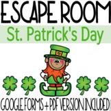 St. Patrick's Day Escape Room Activity