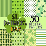 St. Patrick's Day - FREE Digital Papers (Designs & Arts and Crafts)