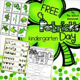 St Patrick's Day FREE Kindergarten Math
