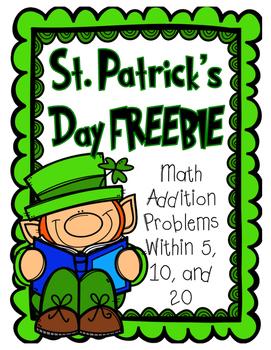 St. Patrick's Day FREEBIE Addition