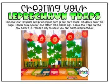 St. Patrick's Day FREEBIE No Prep Leprechaun Traps