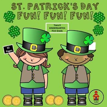 St. Patrick's Day FUN! Printables! Worksheets!