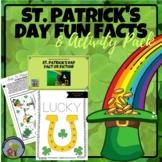 St. Patrick's Day Printable Activities & Leprechaun Hat Craft