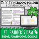 St. Patrick's Day Fiction Reading Passages