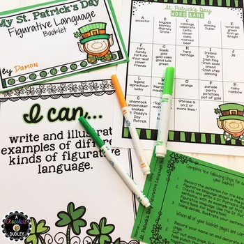 St. Patrick's Day Figurative Language