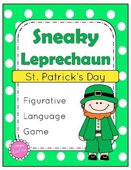 St. Patrick's Day Figurative Language Game