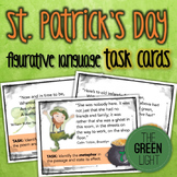 St. Patrick's Day Figurative Language Task Cards: Bell-Ringers, Activities