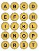 St. Patrick's Day File Folder Game: Alphabet Matching