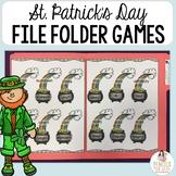 St Patricks Day Folder Task Center Activities