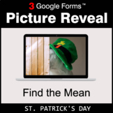 St. Patrick's Day: Find the Mean - Google Forms Math Game