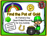 St. Patrick's Day  - Find the Pot of Gold - Interactive No