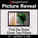 St. Patrick's Day: Find the Slope Given Two Points - Googl