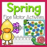 Spring Fine Motor Activities - Spring Activities
