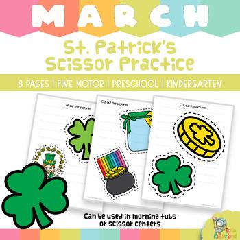 St Patrick's Day Fine Motor Activities for PreK-Kindergarten {Teka Kinderland}