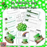 St. Patrick's Day Handwriting and Fine Motor Fun - Occupational Therapy