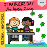 St. Patrick's Day Fine Motor Tracing Cards