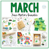St. Patrick's Day Fine Motor Unit - Activities and Centers for Preschool