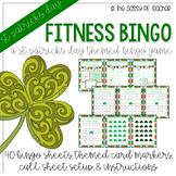 St. Patrick's Day Fitness Bingo
