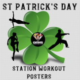 St Patrick's Day Fitness Posters!