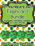 St. Patrick's Day Flashcard Bundle