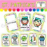 St. Patrick's Day - Flashcards - Colour me Confetti