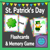 St Patrick's Day Flashcards and Memory Game