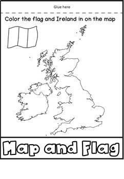 St Patrick's Day Flip Book