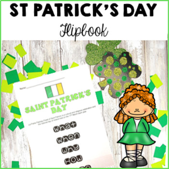 St Patrick's Day Flip Book Ireland's national day