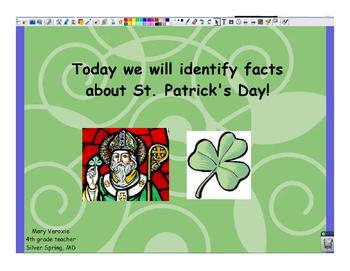 St. Patrick's Day Flipchart
