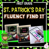 St. Patrick's Day Fluency Find It (1st Grade)