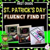 St. Patrick's Day Fluency Find It® (1st Grade)