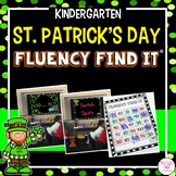 St. Patrick's Day Fluency Find It (Kindergarten)