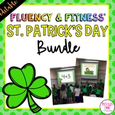 St. Patrick's Day Fluency & Fitness® {EDITABLE} Brain Breaks