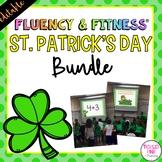 St. Patrick's Day Fluency & Fitness® {EDITABLE} Brain Breaks