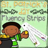 St. Patrick's Day Fluency Strips