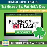 St. Patrick's Day Fluency in a Flash 1st Grade • Digital F
