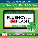 St. Patrick's Day Fluency in a Flash 1st Grade • Digital F