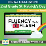 St. Patrick's Day Fluency in a Flash 2nd Grade • Digital F