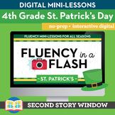 St. Patrick's Day Fluency in a Flash 4th Grade • Digital F
