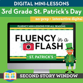St. Patrick's Day Fluency in a Flash 3rd Grade • Digital F