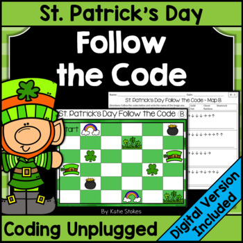 St. Patrick's Day Follow the Code (Coding Unplugged)