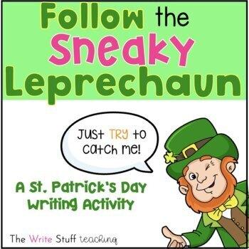 St. Patrick's Day: Follow the Sneaky Leprechaun