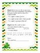 St. Patrick's Day Fraction Challenge Bundle: Leprechaun Lineup