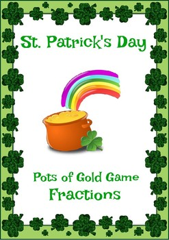 St Patrick's Day Fractions Game