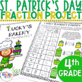 St. Patrick's Day Math Activities | 4th Grade Fractions