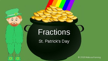 St. Patrick's Day Fractions Word Problems Add and Subtract Compare Order