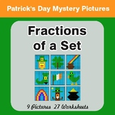 St. Patrick's Day: Fractions of a Set - Color-By-Number My
