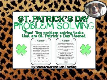 St. Patrick's Day Free Problem Solving