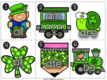 St. Patrick's Day Free Write the Room Activity